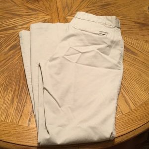 Calvin Klein khaki dress pants